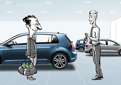 Volkswagen Financial Services – Dienstleistungen - Web Based Training