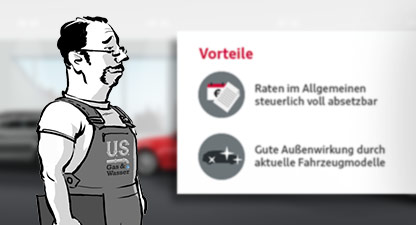 Audi Financial Service – Leasing – Web Based Training-Serie